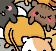 Cluster Cats Sticker