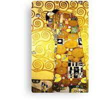 Gustav Klimt The Embrace Canvas Print