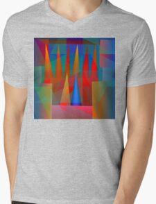 Jester Jump Mens V-Neck T-Shirt