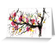 Spring Vibes Greeting Card