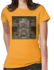 Gray Mantle Womens Fitted T-Shirt