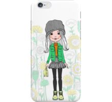 Hipster girl  iPhone Case/Skin