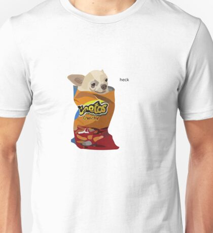 chihuahua in a cheetos  Unisex T-Shirt