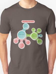 Healthy Lifestyle infographics T-Shirt