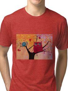happy monsters Tri-blend T-Shirt