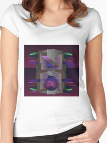 Purple Mantle Women's Fitted Scoop T-Shirt