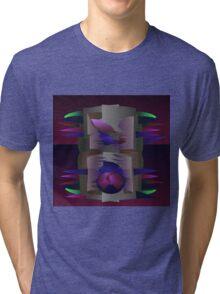 Purple Mantle Tri-blend T-Shirt