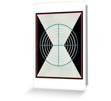 Deadly Assassin  Greeting Card