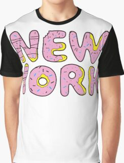 Sweet New York Graphic T-Shirt