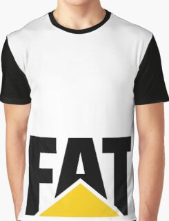 STAY FAT Graphic T-Shirt