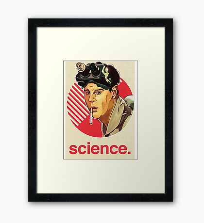 Ghostbusters Ray Stantz Framed Print