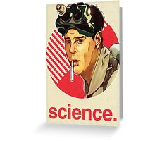 Ghostbusters Ray Stantz Greeting Card