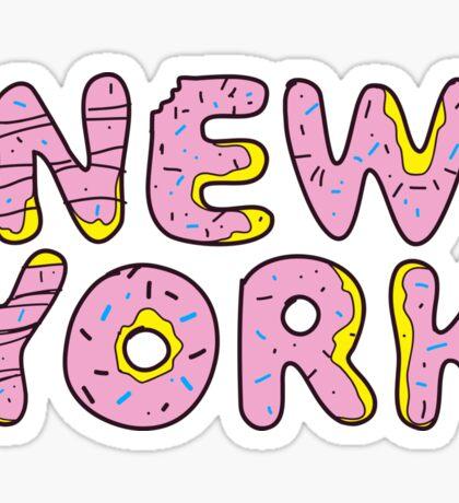 Sweet New York Sticker