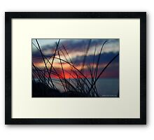 Dusk Colors | Montauk, New York Framed Print