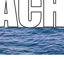Beach Arrow Sticker