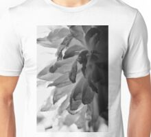 Flower Close Ups - Black/White - One Unisex T-Shirt