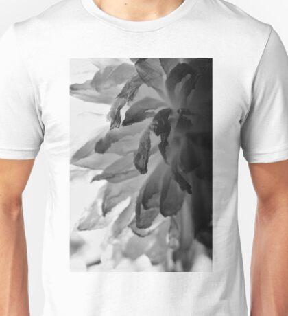 Flower Close Ups - Black/White - One Unisex T-Shirt