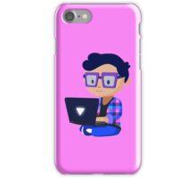 Cute Hipster Geek iPhone Case/Skin