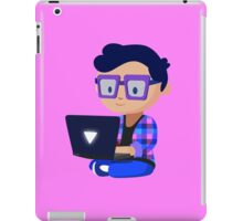 Cute Hipster Geek iPad Case/Skin