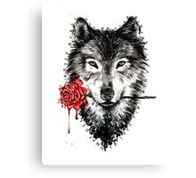 rose_wolf Canvas Print