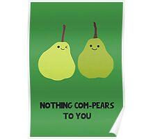 Cute Fruit! Pear. Poster