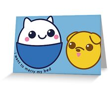 Finn and Jake Greeting Card