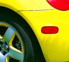 Yellow Turbo Bug Sticker
