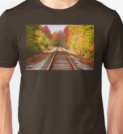 Fading Tracks Unisex T-Shirt