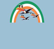 guinness irish rainbow Womens Fitted T-Shirt