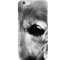 Stevey in BW iPhone Case/Skin