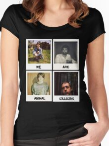 We Are Animal Collective (Polaroids) Women's Fitted Scoop T-Shirt
