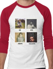We Are Animal Collective (Polaroids) Men's Baseball ¾ T-Shirt