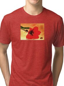 Meet Me in the Tulips Tri-blend T-Shirt