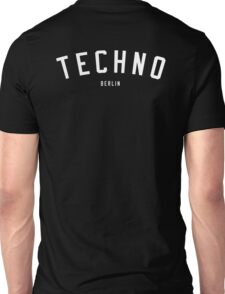 TECHNO BERLIN Unisex T-Shirt