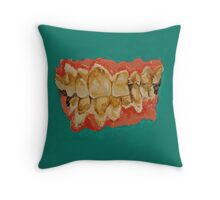meth mouth Throw Pillow