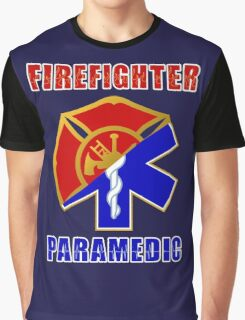 Firefighter-Paramedic Graphic T-Shirt