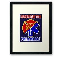 Firefighter-Paramedic Framed Print