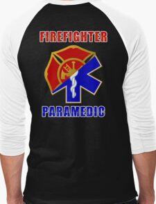 Firefighter-Paramedic Men's Baseball ¾ T-Shirt