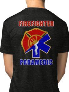 Firefighter-Paramedic Tri-blend T-Shirt
