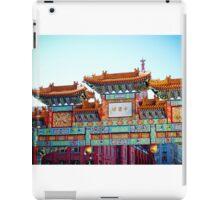 Chinatown DC iPad Case/Skin