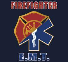 Firefighter-EMT One Piece - Short Sleeve