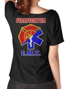Firefighter-EMT Women's Relaxed Fit T-Shirt
