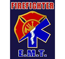 Firefighter-EMT Photographic Print