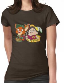 Nick and Russell: Wilderness Explorers! Womens Fitted T-Shirt