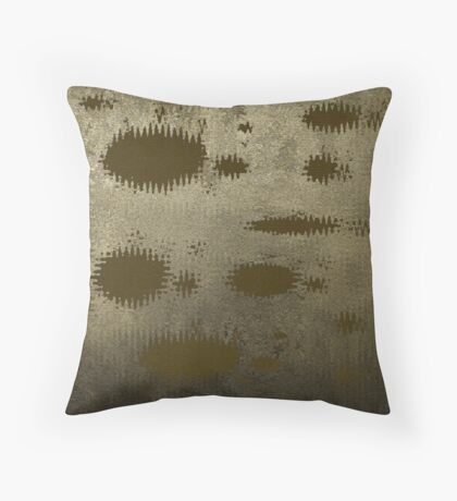 Wall Decay Throw Pillow