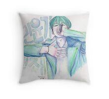 min yoongi, genius Throw Pillow