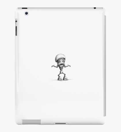 Custom Robot Illustration iPad Case/Skin