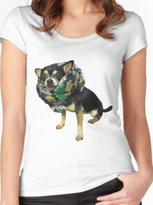 cute Chihuahua Women's Fitted Scoop T-Shirt