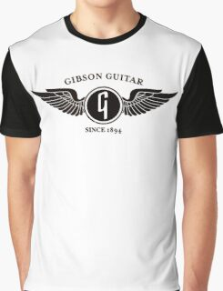 gibson guitar wings Graphic T-Shirt