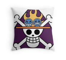 SPADE PIRATES Throw Pillow